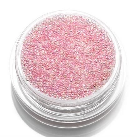 TNL, Бульонки стеклянные, розовая карамель