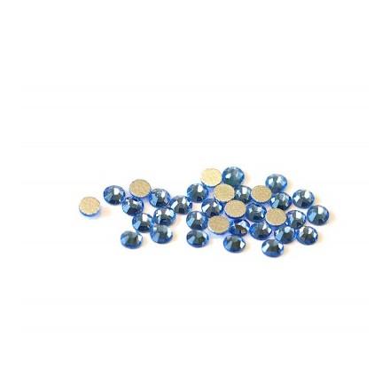 TNL, Стразы 3 мм голубые, 50 шт.