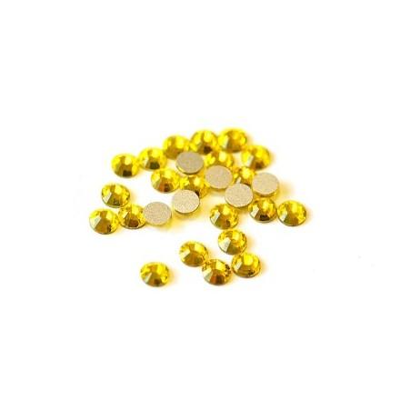 TNL, Стразы 4 мм лимон, 50 шт.