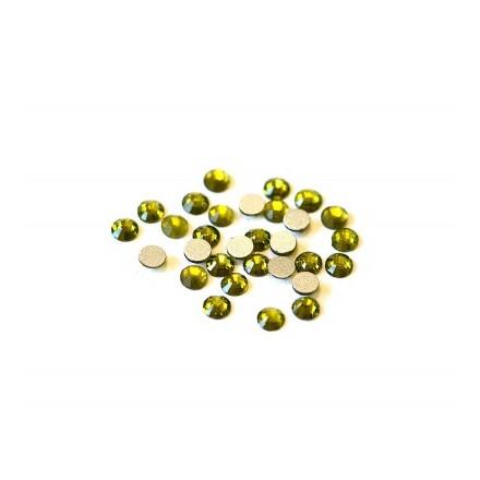 TNL, Стразы 3 мм оливковые, 50 шт.