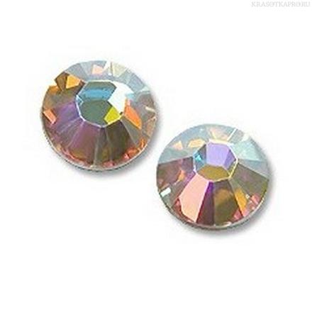 Кристаллы Swarovski, Crystal AB F SS4 1,5 мм (100 шт)
