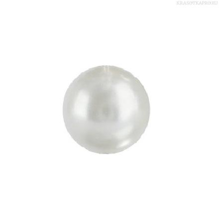 Swarovski, Кристалльные жемчужины Crystal White Pearl 1,5 мм