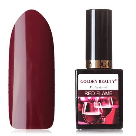 Golden Beauty, Гель-лак Red Flame №08