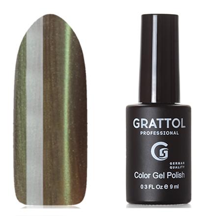 Grattol, Гель-лак Crystal №003, Green