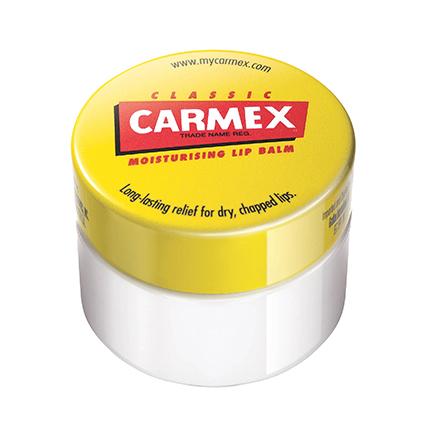 Carmex, Бальзам для губ классический, в баночке