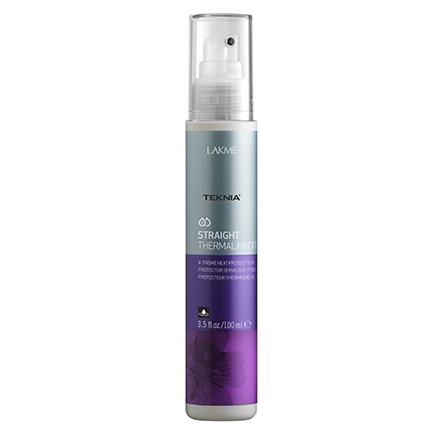 Lakme, Cпрей для экстремальной термозащиты волос Straight Thermal Protector, 100 мл