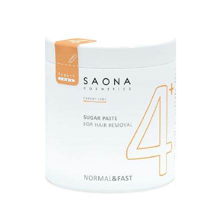 Saona Cosmetics, Сахарная паста для депиляции Normal/Fast, 1000 г