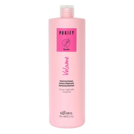 Kaaral, Шампунь Volume Purify для объема тонких волос, 1000 мл