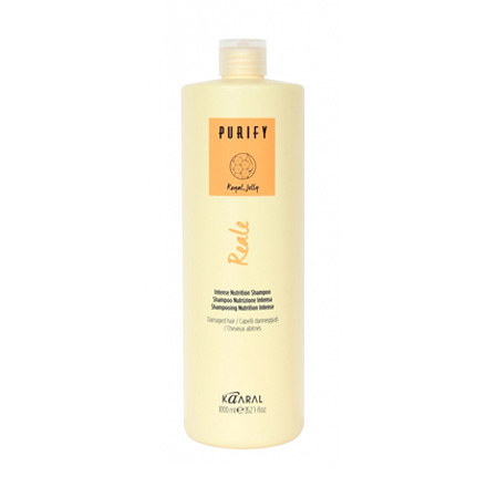 Kaaral, Шампунь Reale Intense Nutrition Purify для поврежденных волос, 1000 мл