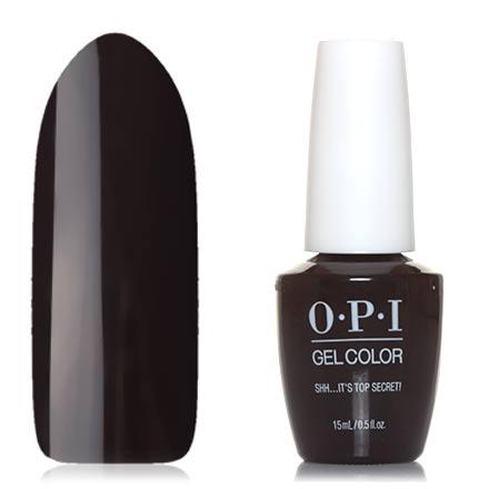 OPI GelColor, Гель-лак Shh… It's Top Secret!