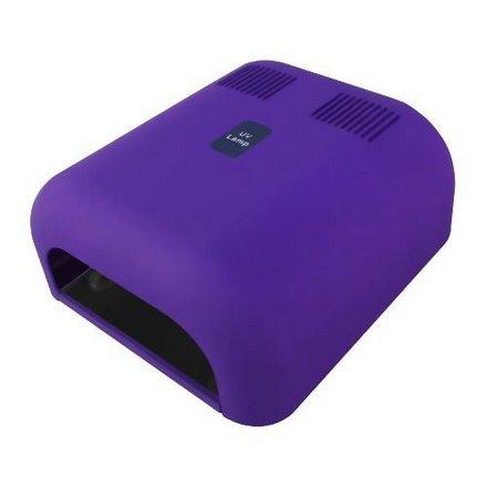 Jessnail, Лампа 36 Вт (4шт * 9ват.), матовая фиолетовая