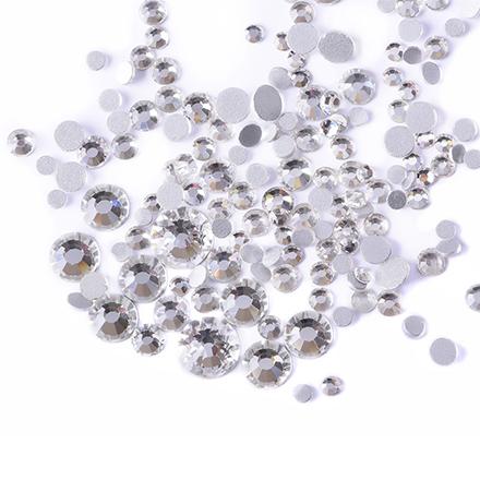 TNL, Стразы кристалл, mix «Серебро»