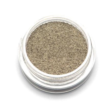 TNL, Бульонки супермелкие, серебро, 0,2 мм