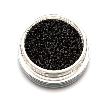 TNL, Бульонки супермелкие, черные,  0,2 мм