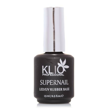 Klio Professional, База Supernail, Rubber Base, 15 мл