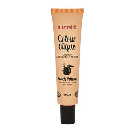 Australis, Праймер Colour clique, Peach princess, 30 мл