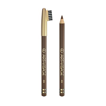 Art-Visage, Карандаш для бровей тон 406, коричневый