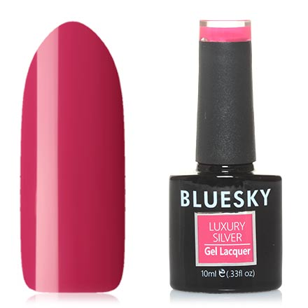 Bluesky, Гель-лак Luxury Silver №077