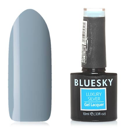Bluesky, Гель-лак Luxury Silver №310