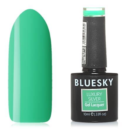 Bluesky, Гель-лак Luxury Silver №357