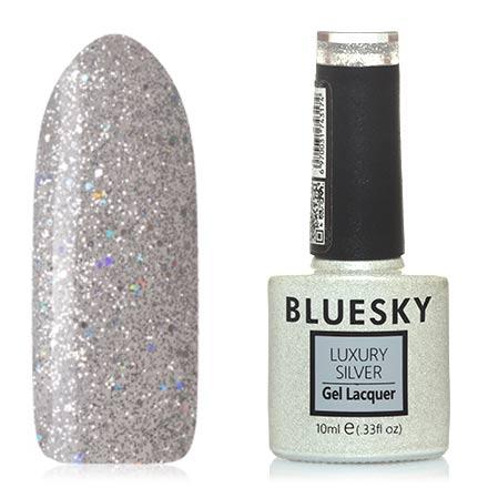Bluesky, Гель-лак Luxury Silver №393