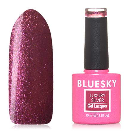 Гель-лак Bluesky Luxury Silver №459