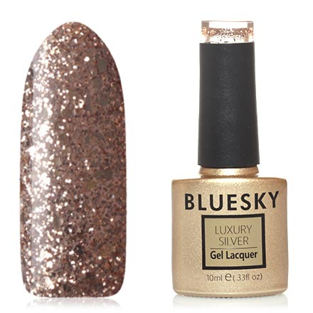 Гель-лак Bluesky Luxury Silver №518