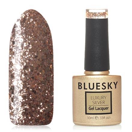 Гель-лак Bluesky Luxury Silver №519