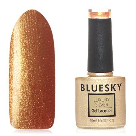 Bluesky, Гель-лак Luxury Silver №525