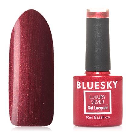 Bluesky, Гель-лак Luxury Silver №563