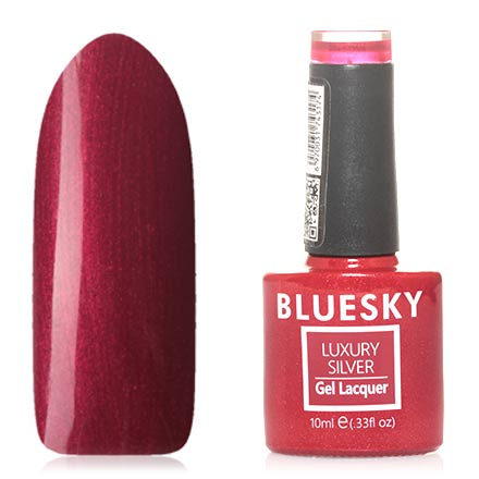 Bluesky, Гель-лак Luxury Silver №569