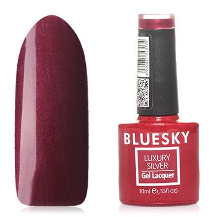 Bluesky, Гель-лак Luxury Silver №574