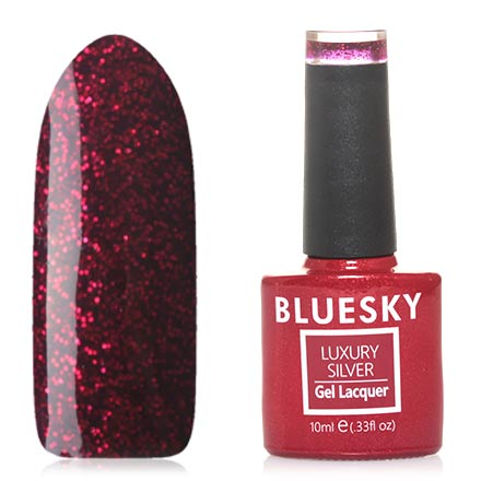 Гель-лак Bluesky Luxury Silver №575