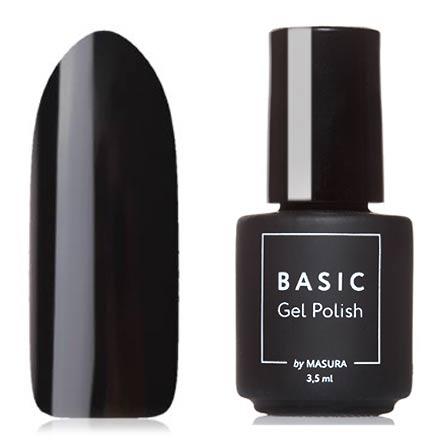 Гель-лак Masura Basic №294-309M, Черный кобальт
