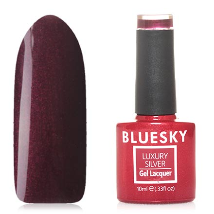 Гель-лак Bluesky Luxury Silver №576
