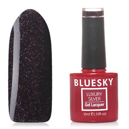 Bluesky, Гель-лак Luxury Silver №580