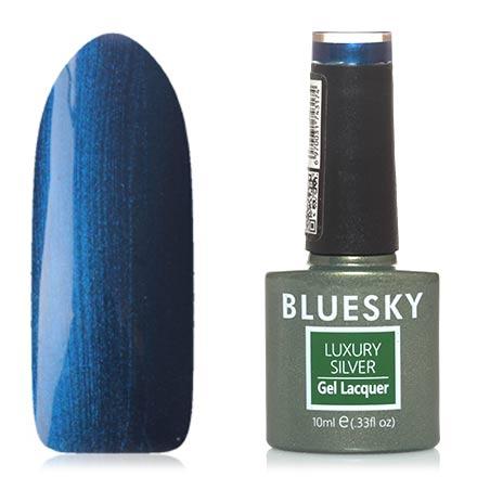 Bluesky, Гель-лак Luxury Silver №643