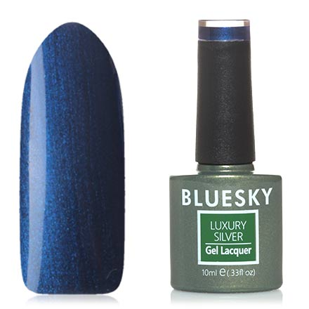 Гель-лак Bluesky Luxury Silver №644