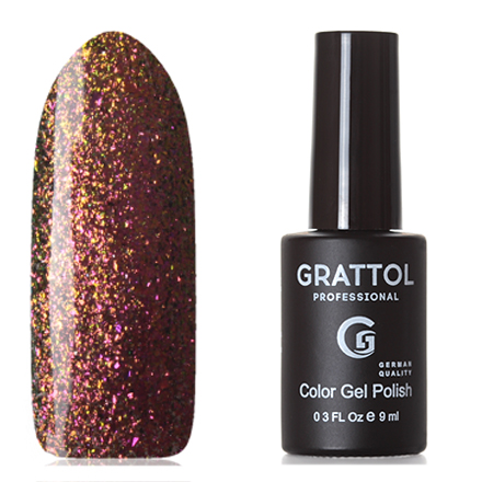 Grattol, Гель-лак Galaxy №004, Copper