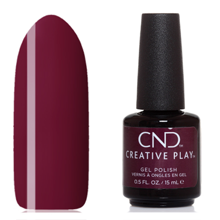 CND, Creative Play Gel №416, Currantly single
