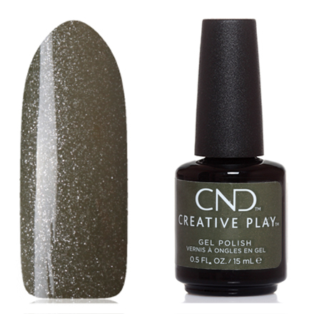 CND, Creative Play Gel №433, Olive for moment