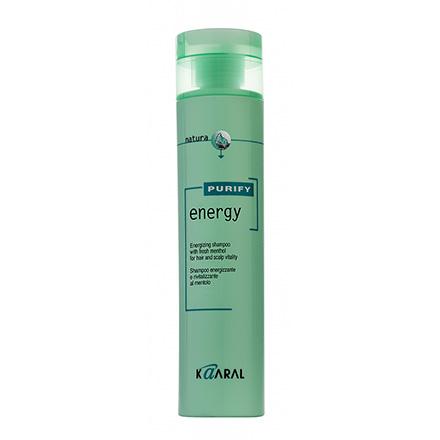 Kaaral, Шампунь Energy Purify интенсивный энергетический c ментолом, 250 мл