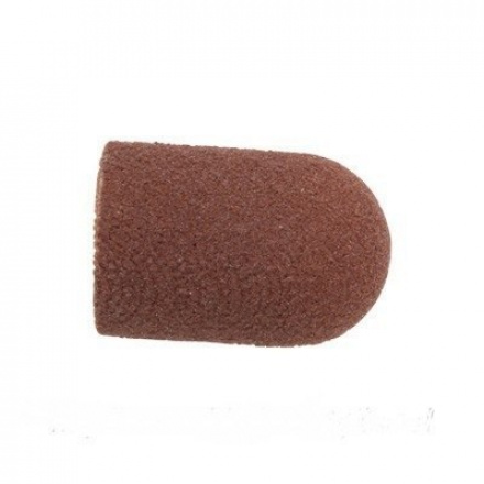 Planet Nails, колпачок абразивный 13x19мм, 80 ед.