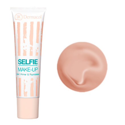 Dermacol, Тонирующая база под макияж Selfie make-up №3, 25 мл