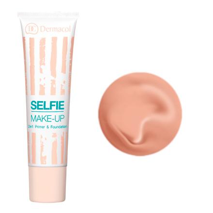 Dermacol, Тонирующая база под макияж Selfie make-up №4, 25 мл