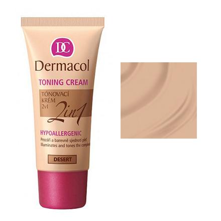 Dermacol, Тональный крем «2 в 1», Desert, 30 мл
