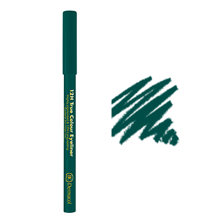 Dermacol, Карандаш для глаз 12h true colour №05, зеленый
