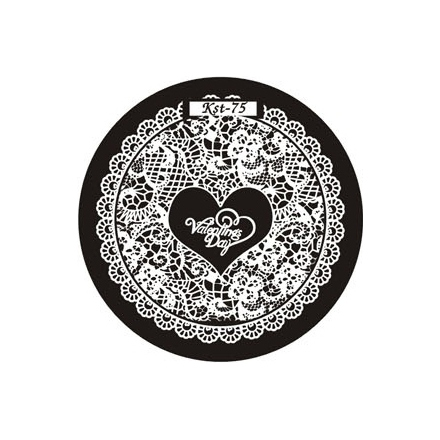 El Corazon, диск для стемпинга Kst-75 Kaleidoscope