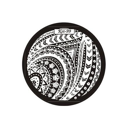 El Corazon, диск для стемпинга Kst-99 Kaleidoscope