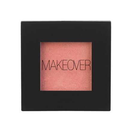 MAKEOVER PARIS, Тени для век Single Eyeshadow, Soft Pink